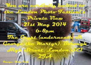Private View Invite May 2014