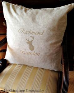 small richmond cushion